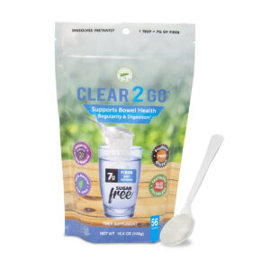 Clear 2 Go™ 56 Serving Bag Showing Powder