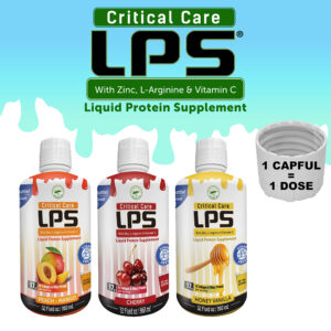 New Bottle of LPS Liquid Protein Supplement Critical Care