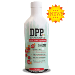 Dipeptide Power is a fast-acting liquid supplement made from collagen dipeptides and 100% amino acids to help support wound healing. Our patented blend helps repair skin from within and prevent enzymatic breakdown which can help to increase skin moisture and elasticity.