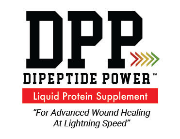 DPP Dipeptide Power™ is a fast-acting liquid supplement made from collagen dipeptides and 100% amino acids to help support and repair wounds from within. Our patented blend helps repair skin and prevent enzymatic breakdown which can help to increase skin moisture and elasticity.