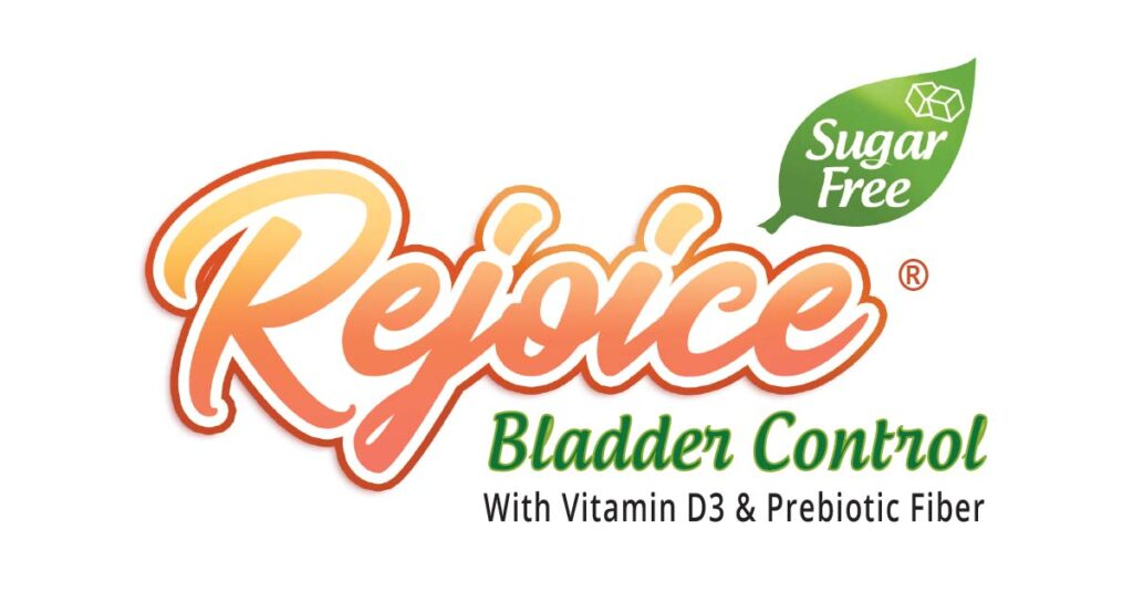 Rejoice is a sugar free liquid supplement, clinically proven to help strengthen the pelvic floor for optimal bladder control.